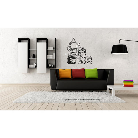 Kapil Dev,Kapil Dev Sticker,Kapil Dev Wall Sticker,Kapil Dev Wall Decal,Kapil Dev Decal