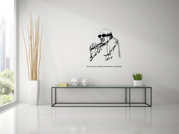 Dr. Kalaignar M. Karunanidhi,	Dr. Kalaignar M. Karunanidhi  Sticker,Dr. Kalaignar M. Karunanidhi  Wall Sticker,Dr. Kalaignar M. Karunanidhi  Wall Decal,Dr. Kalaignar M. Karunanidhi  Decal