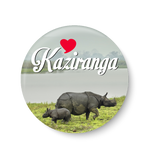 Love Kaziranga Fridge Magnet