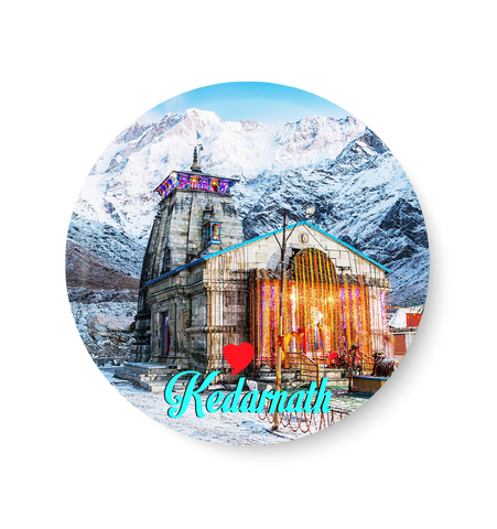 Kedarnath Fridge Magnet,Kedarnath