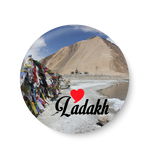 Love Ladakh Fridge Magnet, Ladakh