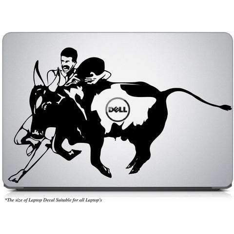 Jallikattu - A Real Men Game Laptop Decal