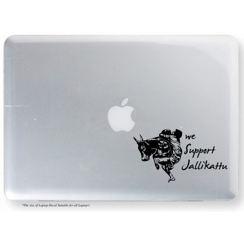 Jallikattu Sticker,Jallikattu Decal,Jallikattu Laptop Sticker,Jallikattu Laptop Decal,Jallikattu