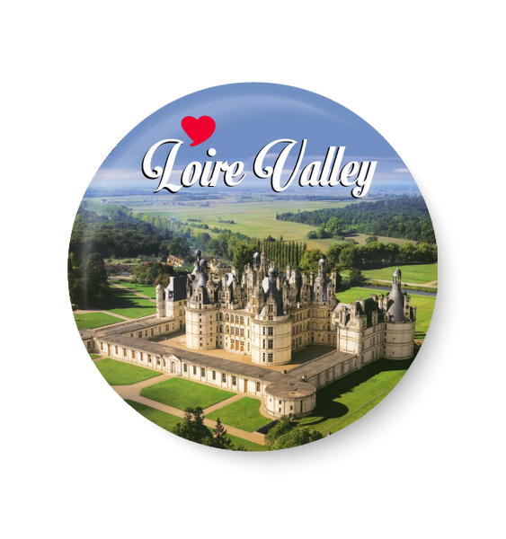Love Loire Valley Fridge Magnet