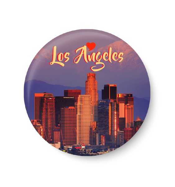 Love Los Angeles , United States Series Pin Badge,,Los Angeles