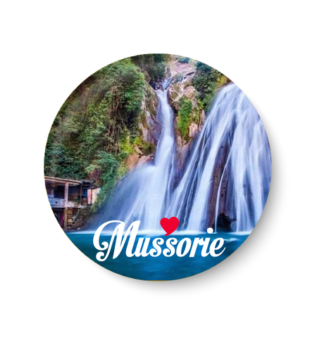 Love Mussorie Fridge Magnet