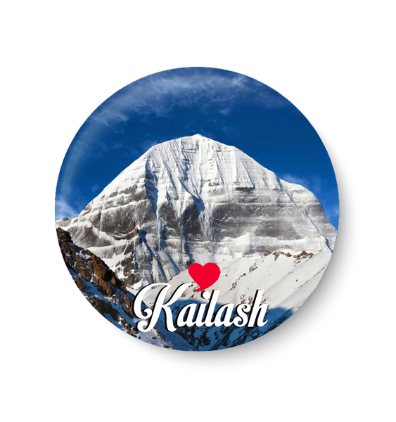 Love Mount Kailash Fridge Magnet