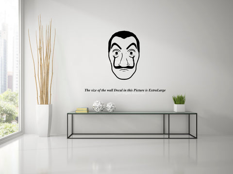 Money Heist , La casa de Papel, Bella ciao , Listen to Professor , Wall Decal