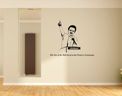 MK Stalin ,DMK , Wall Decal