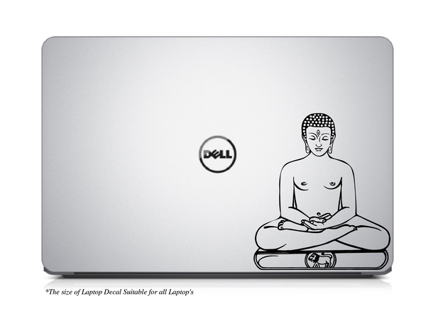 Mahavir,Mahavira,Mahavir wall Decal,Mahavir wall Sticker,Mahavir sticker,Jain,Jainisam,Jainism Sticker,Lord Mahavira Laptop Sticker,Mahavira Laptop Sticker