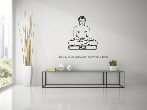 Lord Mahavira ,Lord Mahavira  Sticker,Lord Mahavira  Wall Sticker,Lord Mahavira  Wall Decal,Lord Mahavira  Decal