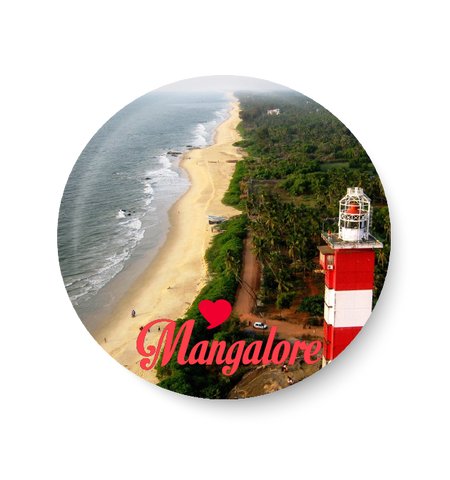Love Mangalore Fridge Magnet