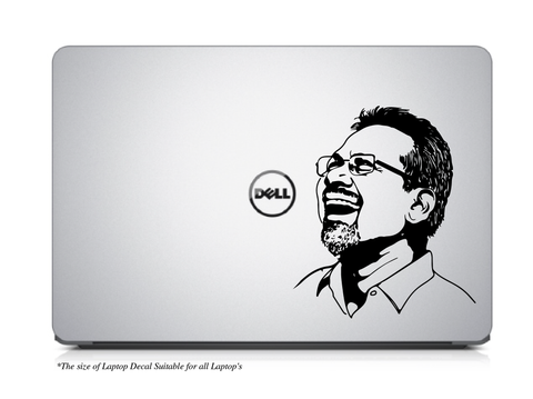 Legendary Director Maniratnam Laptop/Mac Book Decal