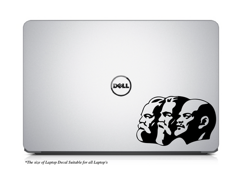 Karl Mark I Friedrich Engles I Vladimir Lenin`s ,Karl Mark I Friedrich Engles I Vladimir Lenin`s Laptop Decal
