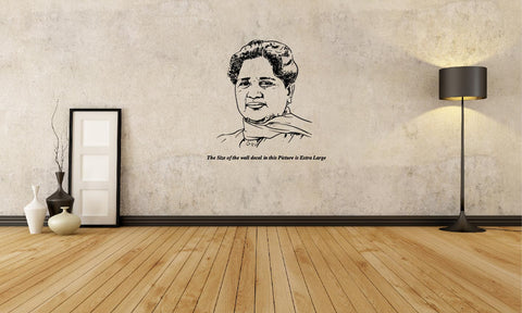 Mayawati I BSP  Wall Decal
