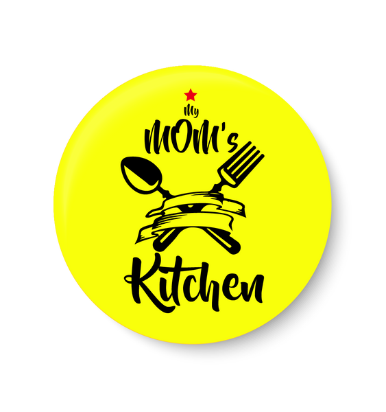 My mom's Kitchen Pin Badge
