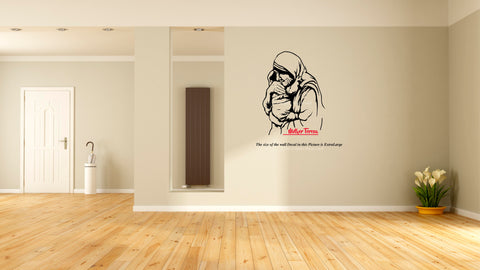 Mother Teresa,Mother Teresa Wall Decal, Teresa