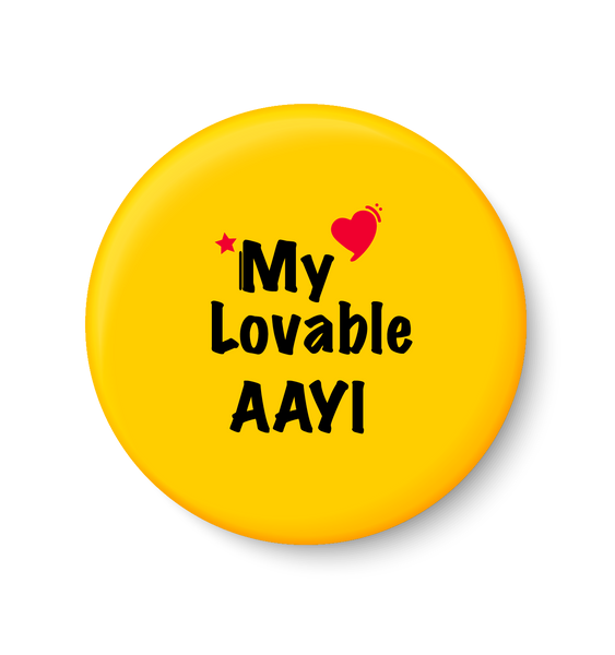 Love My Lovable AAYI  I Mothers Day Gift Fridge Magnet