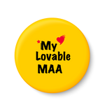 Love My Lovable MAA I Mothers Day Gift Fridge Magnet