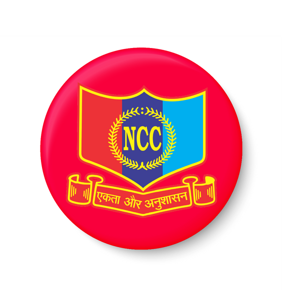 National Cadets Corps I NCC I Pin Badge, NCC