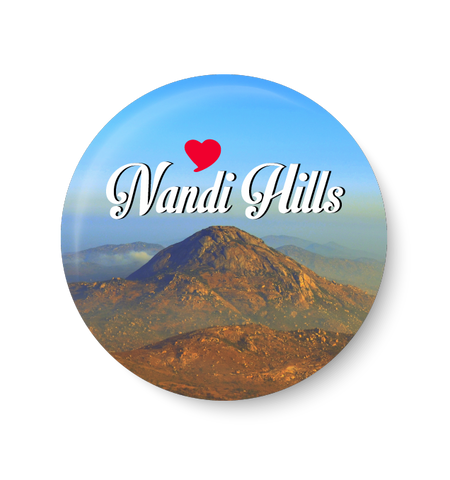 Love Nandi Hill Fridge Magnet