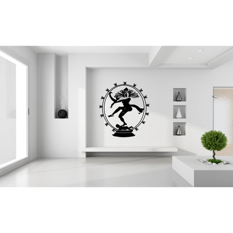 Nataraj The King of Dance W,	Nataraj The King of Dance W Sticker,Nataraj The King of Dance W Wall Sticker,Nataraj The King of Dance W Wall Decal	,Nataraj The King of Dance W Decal