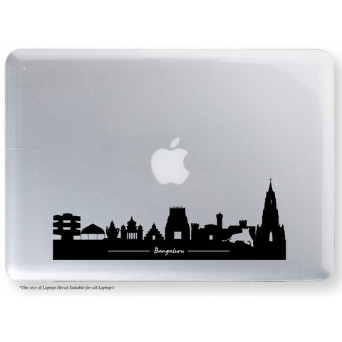 Bangalore Skyscraper Laptop Decal