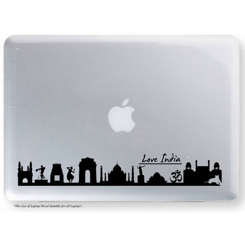 Love India Sticker,India Laptop Sticker,India Sticker,Love India Laptop Decal,Love India Decal