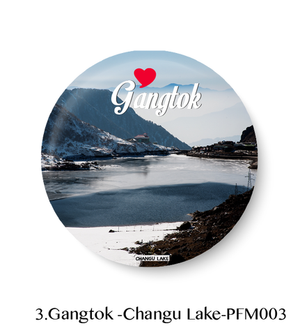 Love Gangtok Fridge Magnet
