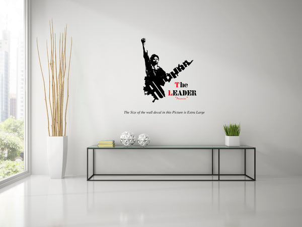 The Leader- Pawan Kalyan Wall Decal