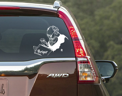 Periyar-The Legend Car window decal