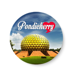 Love Pondicherry Fridge Magnet