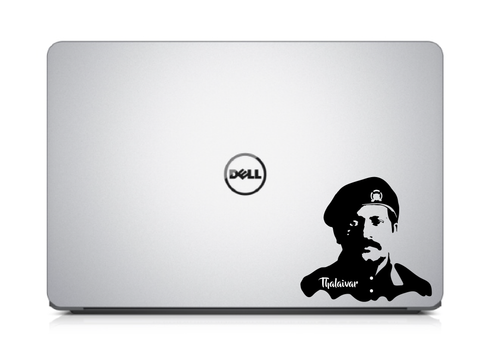 Legendary Leader Prabhakaran Laptop Decal