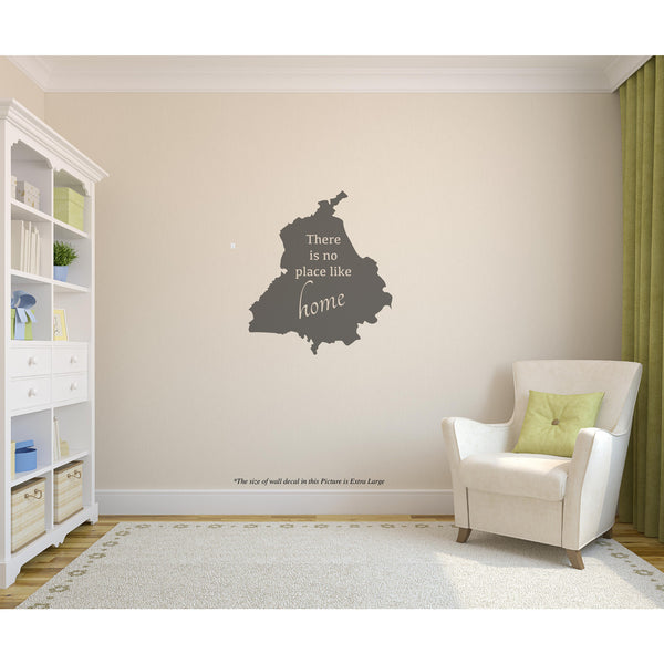 Punjab There is no place like my home W,Punjab There is no place like my home W Sticker,Punjab There is no place like my home W Wall Sticker,Punjab There is no place like my home W Wall Decal,Punjab There is no place like my home W Decal