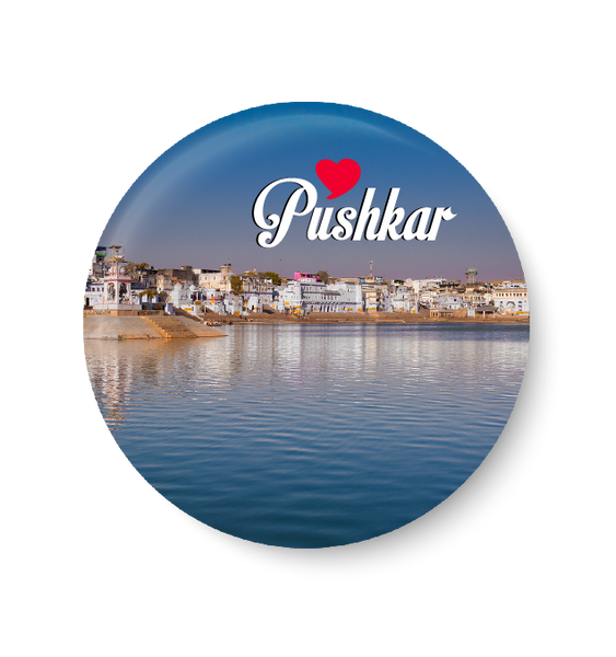 Love Pushkar Fridge Magnet