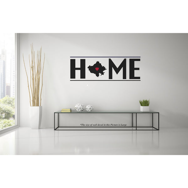 Rajasthan My Home W,Rajasthan My Home W Sticker,Rajasthan My Home W Wall Sticker,Rajasthan My Home W Wall Decal	,Rajasthan My Home W Decal