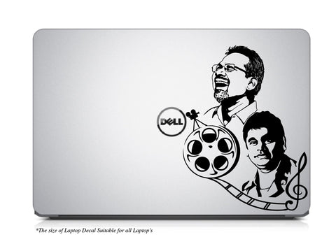 Rahman,Rahman Laptop Decal,Rahman Laptop Sticker,Mani Ratnam,Mani Ratnam laptop Sticker,Maniratnam Laptop decal,