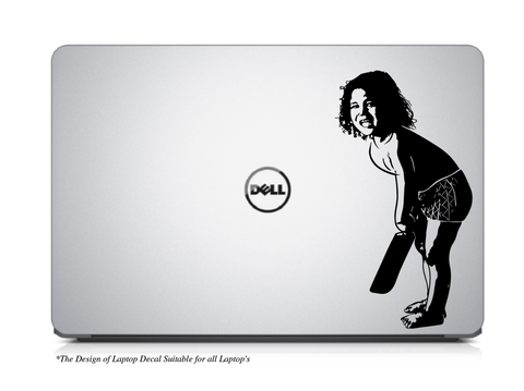 Sachin Tendulkar as Little Mater Laptop/Mac Book Decal