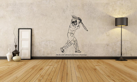 Sachin Tendulkar-Classic Straght Drive ,Sachin Tendulkar-Classic Straght Drive  Sticker,Sachin Tendulkar-Classic Straght Drive  Wall Sticker,Sachin Tendulkar-Classic Straght Drive  Wall Decal,Sachin Tendulkar-Classic Straght Drive  Decal