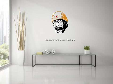 Sai Baba Wall Decal