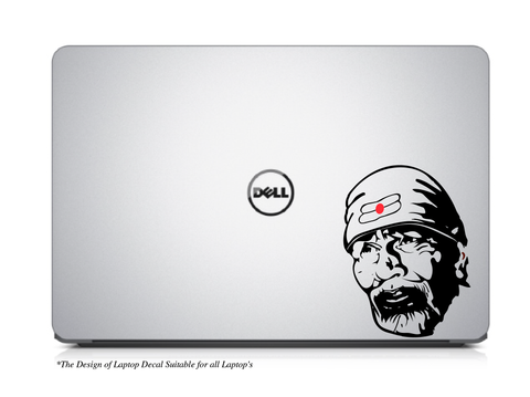 Sai Baba Sticker,Saibaba Decal,Sai Baba Decal,Sai Baba Laptop Decal,Sai Baba Laptop Sticker