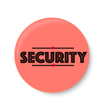 Security , Office Pin Badge