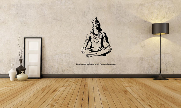 Lord Shiva Meditation ,Lord Shiva Meditation  Sticker,Lord Shiva Meditation  Wall Sticker,Lord Shiva Meditation  Wall Decal,Lord Shiva Meditation  Decal