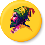 Shivaji Pin - Badge, Shivaji