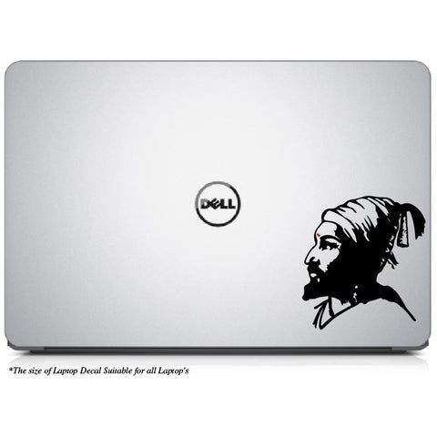 Legendary Chatrapati Shivaji Maharaj Laptop/Mac Book Decal