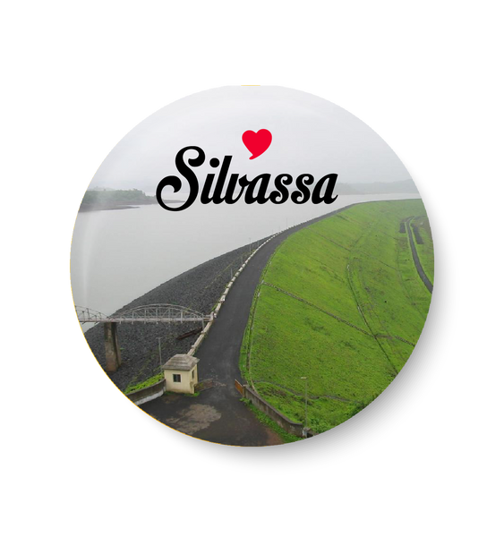 Love Silvassa Magnet,Love Silvassa Fridge Magnet