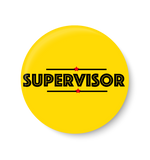Supervisor , Office Pin Badge