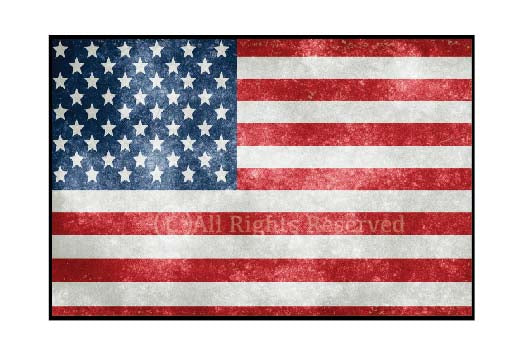United States Flag Wall Poster , Frames, amceria flag, flag, America wall poster
