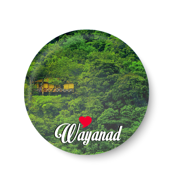 Love Wayanad I Fridge Magnet