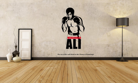 Muhammad Ali Wall Decal,Muhammad Ali ,Wall Decal